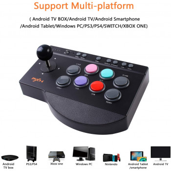 Universal Joystick for PC, Android, PS3, PS4 XBOX One, & Switch - Universal Arcade Stick