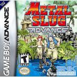 Metal Slug Advance - Gameboy Advance - Solo el Juego