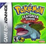 Pokemon Verde hoja - Gameboy Advance Verde Hoja Pokemon - Solo el Juego