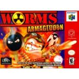 Nintendo 64 Worms Armageddon - N64 Worms - Solo el juego