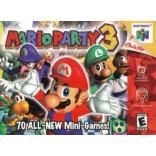 Nintendo 64 Mario Party 3 - N64 Mario Party 3 - Solo el juego
