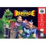 Nintendo 64 Rampage World Tour - N64 Rampage World Tour- Solo el Juego