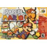 Nintendo 64 Paper Mario - Paper Mario N64 - Solo el Juego
