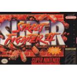 Super Nintendo Super Street Fighter II The New Challengers - SNES Super Street Fighter 2