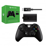 XBOX One Wireless Controller w/ Play & Charge Kit Black by Microsoft