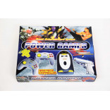 NES Game Player - Power Games Penguin Super Entertainment System - 2 Controllers and Light Gun - New