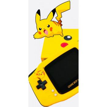 Pikachu Gameboy Advance con Pantalla Ultra Brillante Edición Limitada
