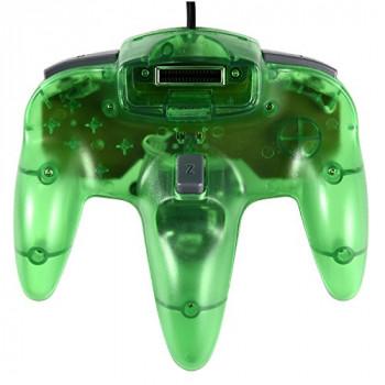 Nintendo 64 Clear Green Controller - Jungle Green N64 Controller