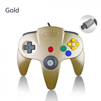 Nintendo 64 Gold Controller - N64 Gold Controller - Limited Edition