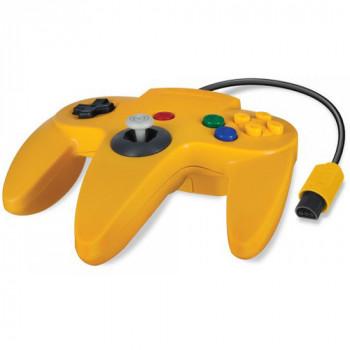 N64 Controller in Yellow - Original Style Nintendo 64 Controller Yellow