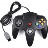 N64 Style Controller Pad Black - Nintendo 64 Controller in Black