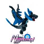 Mega Evolution Charizard Azul Oscuro Peluche de 10 Pulgadas