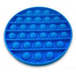 Popping Fidget Juguete - Circle Pop It - Azul Claro