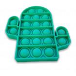 Cactus Pop It Fidget Toy - Pop It Cactus Verde