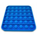 Pop It Juguete Cuadrado - Poppet Juguete Cuadrado Azul Claro