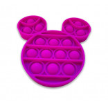 Purple Mouse Head Popping Toy - Mickey Mouse Pop It Fidget Toy