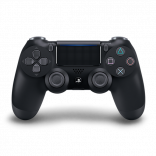 Sony PS4 Control Negro Dualshock 4 Style Playstation 4 Controller in Negro Jet