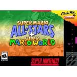 Super Nintendo Super Mario All-Stars + Super Mario World - SNES - Solo el Juego