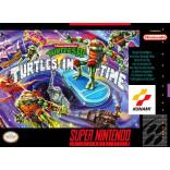 Super Nintendo Teenage Mutant Ninja Turtles IV - Turtles In Time - SNES - Solo el Juego