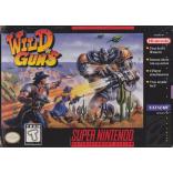 Super Nintendo Wild Guns - SNES - Game Only