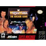 WWF Wrestlemania Arcade Game Super Nintendo