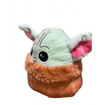 Reversible Baby Yoda Mandalorian Plush - Baby Yoda Plush