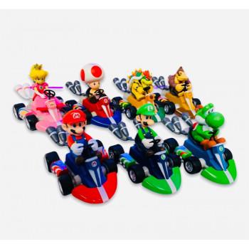 Mario - Mario Kart Toy Pull Back Racer