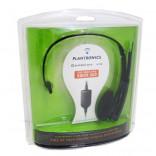 Headset X10 con cable de Plantronics GameCom Stereo - Para XBox 360 - Nuevo
